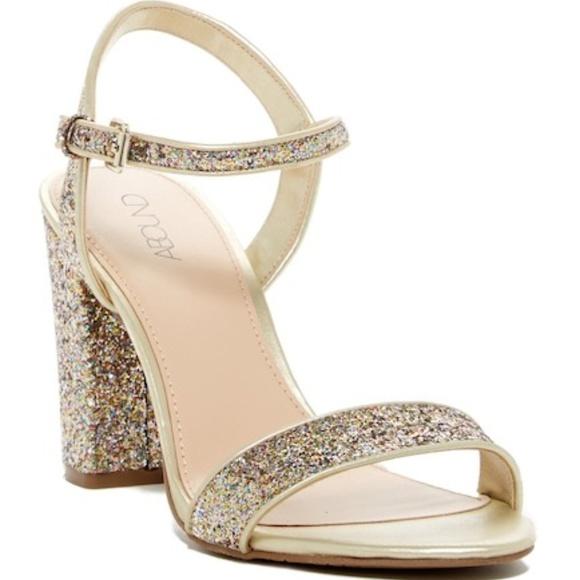 7113a411f43 Abound Shoes - Abound Steph Glitter Block Heels